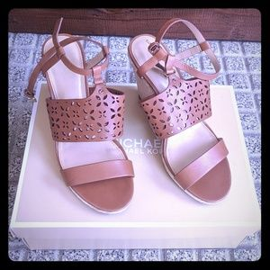 Michael Kors Darci Wedge Sandals